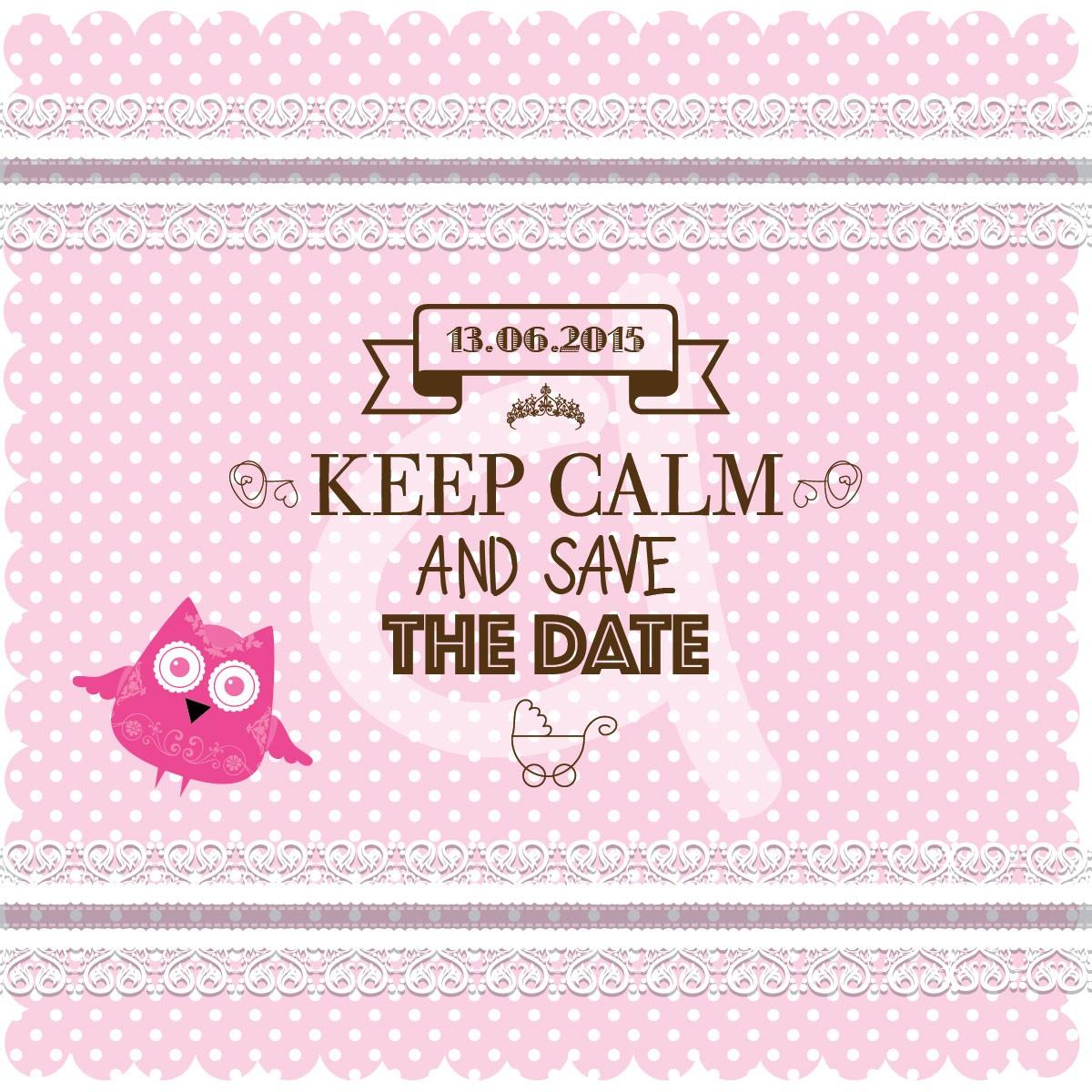 Keep calm κουκουβάγια